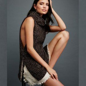 Free People Valentina Sleeveless Tunic Sweater